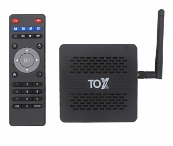 TOX1 TV Box 4ГБ + 32ГБ